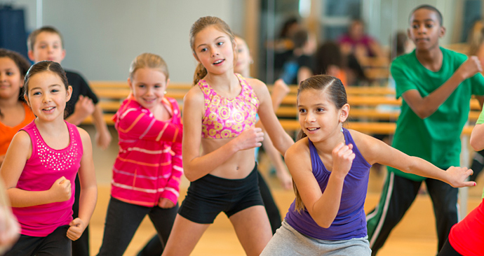 Caughlin Atheltic Club - Dance Class